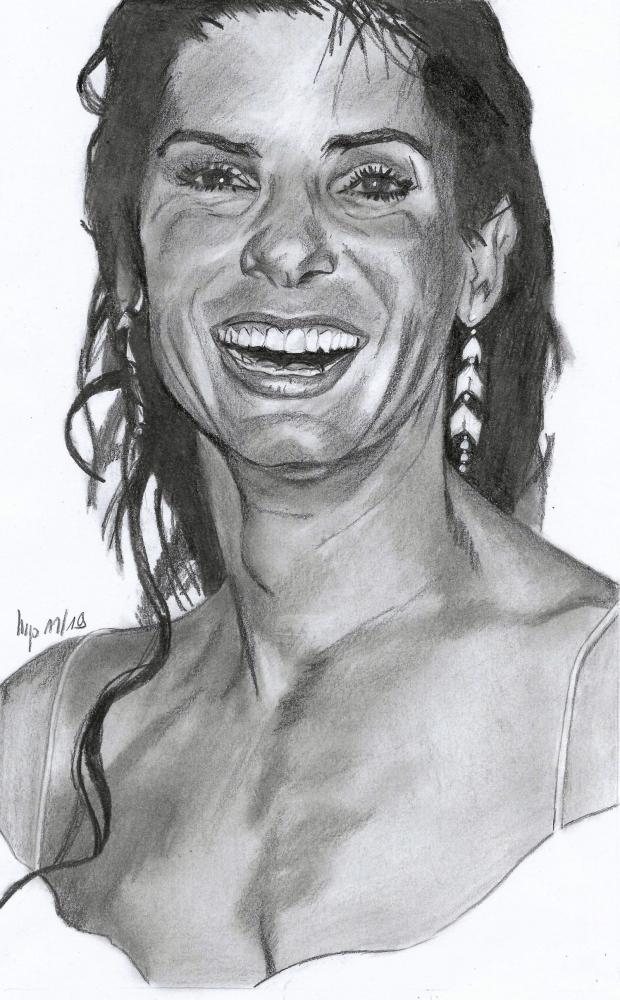 Sandra Bullock by patrick
